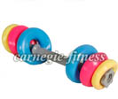 Dumbbell w/ weighted circle